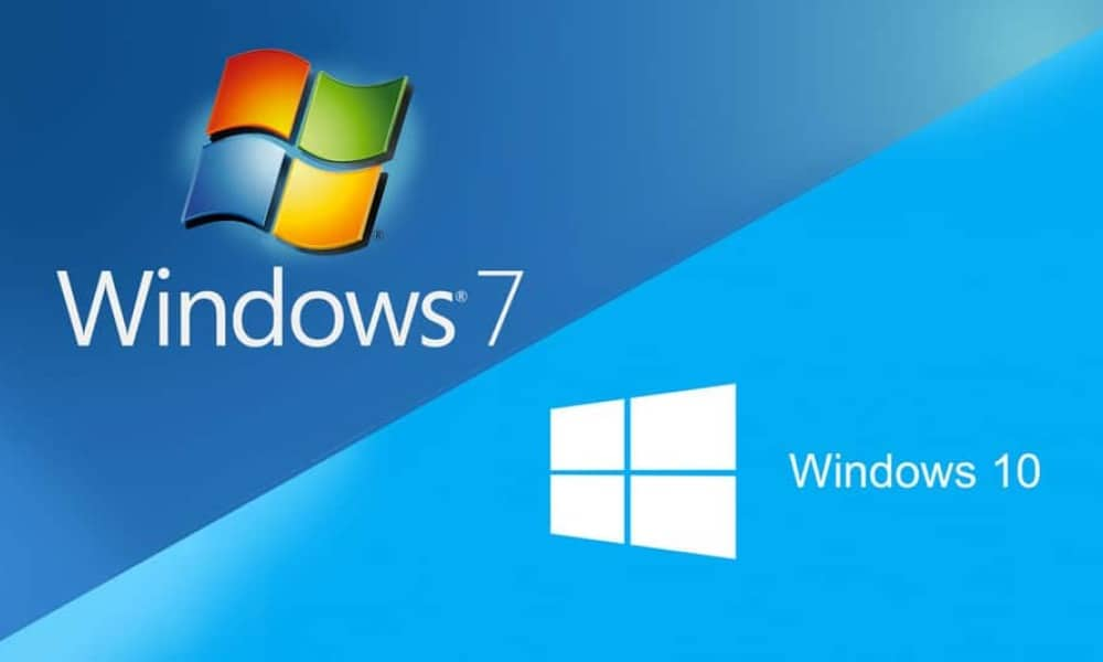 Migration Windows7 Windows10